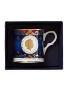 Royal Worcester Royal coronation tankard