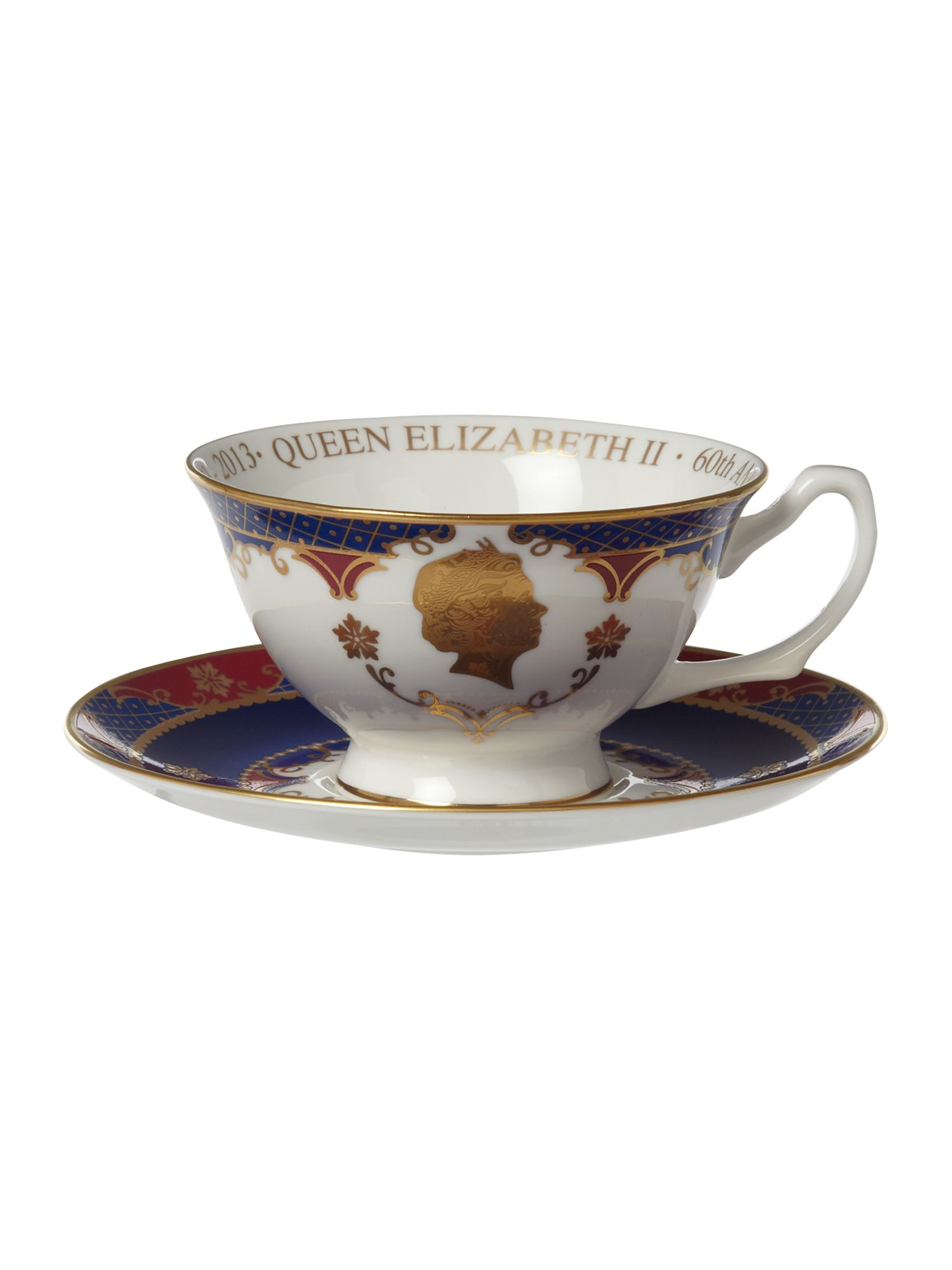 Royal Worcester Royal Worcester Royal coronation tea cup & saucer