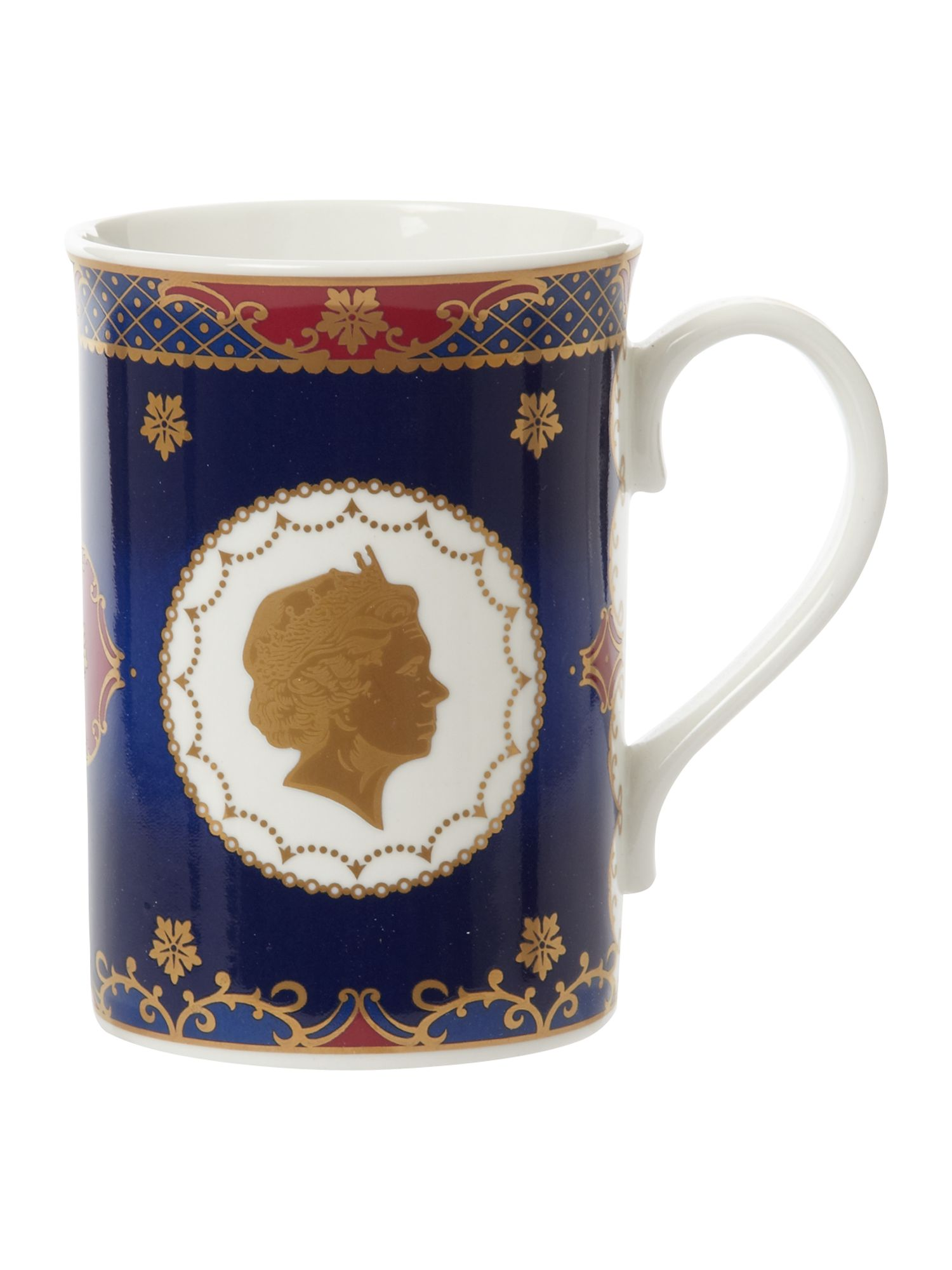 Royal Worcester Royal Worcester Royal coronation collection mug