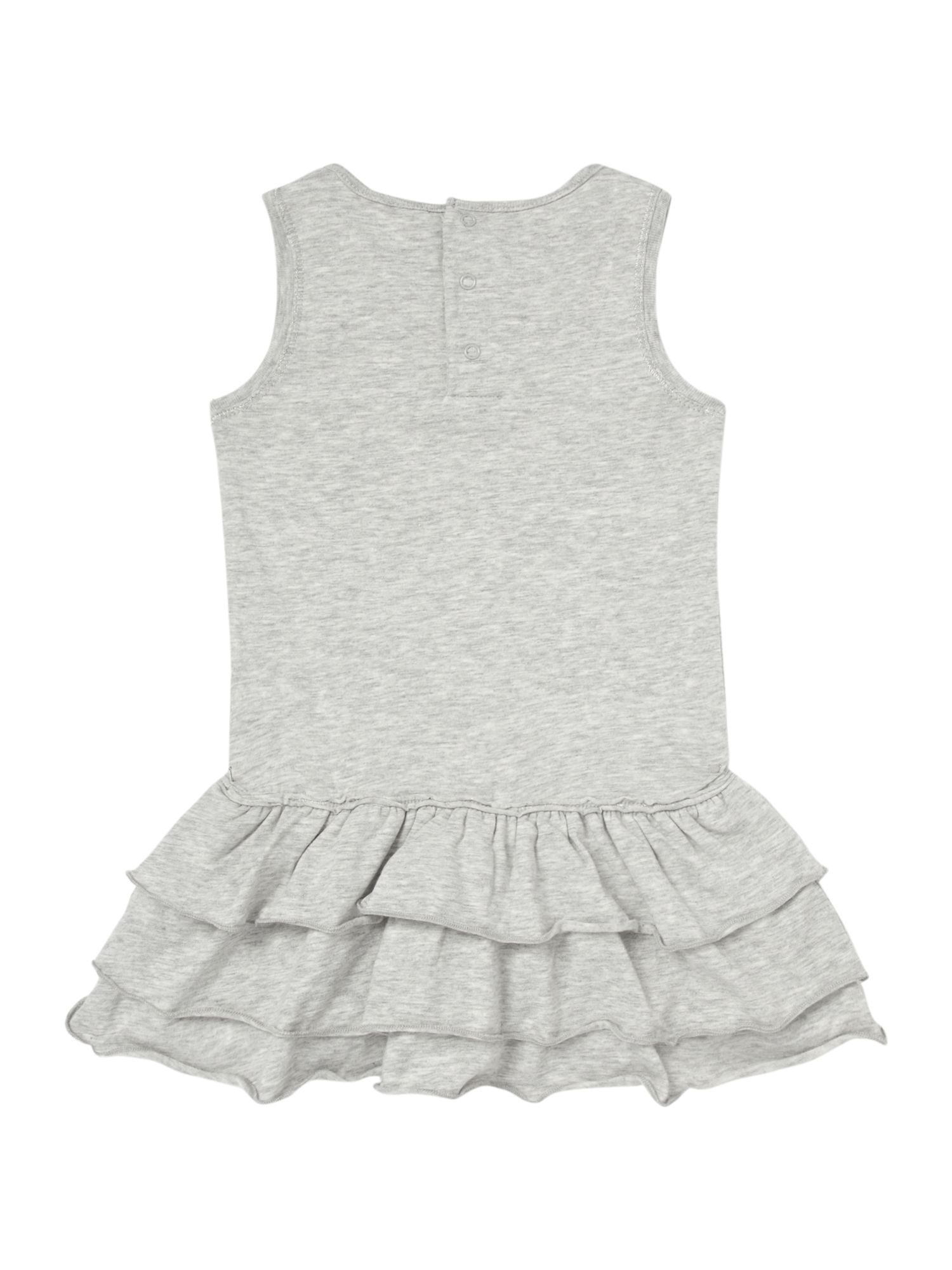 Girl`s Grey sleeveless dress