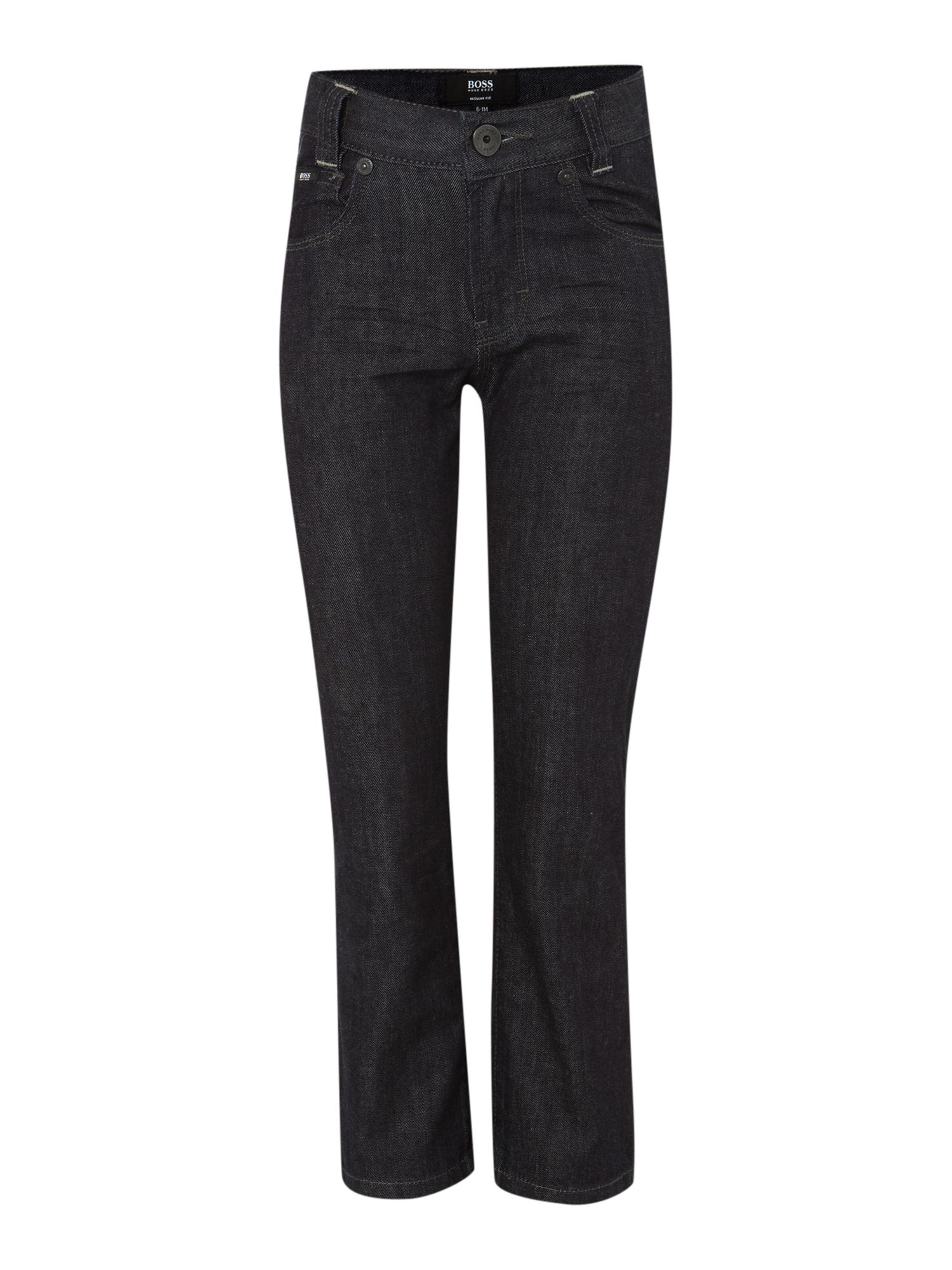 Boy`s rinse wash denim trousers