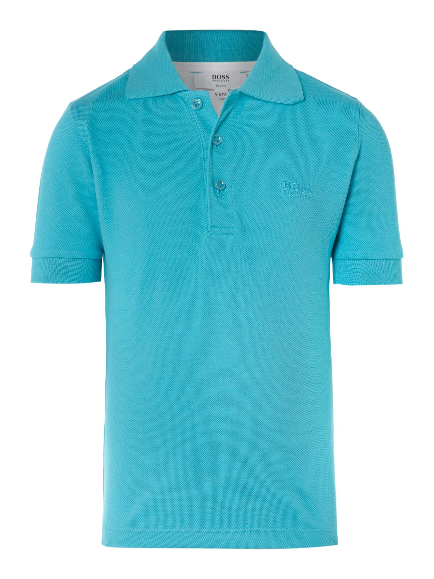 Boy`s cotton short sleeve polo
