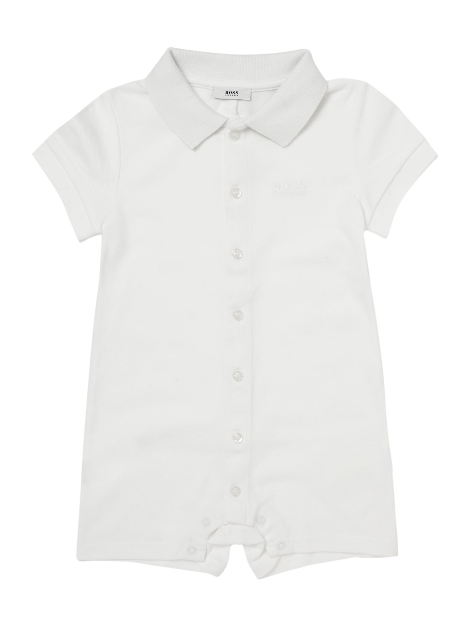 Boy`s cotton short sleeve all in one