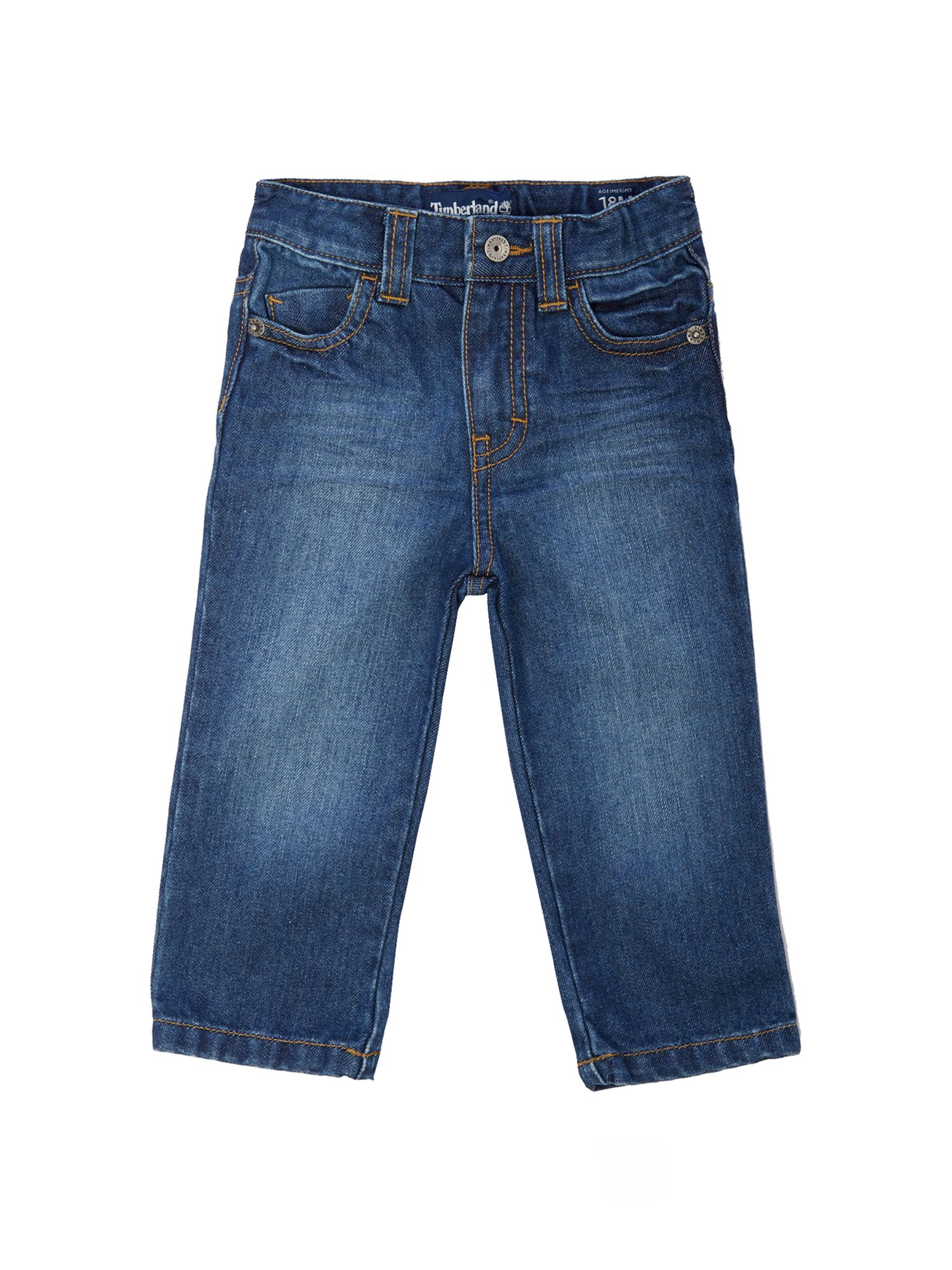 Boy`s Stone denim trousers