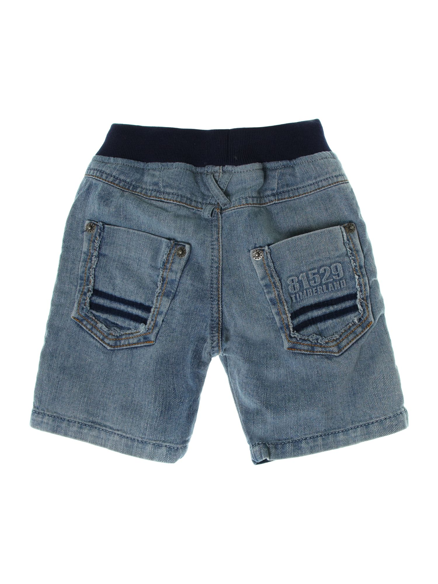 Boy`s Stone denim bermuda shorts