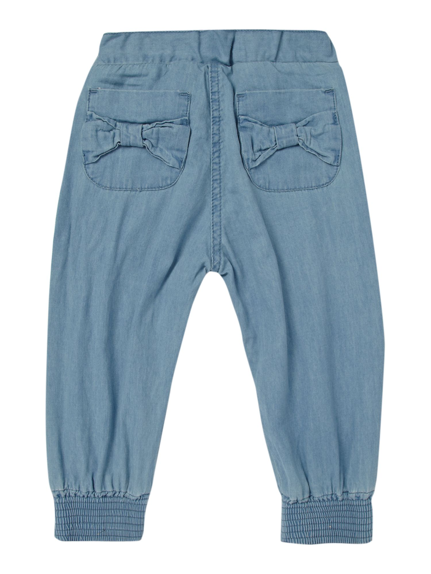 Girl`s Denim trousers in cotton