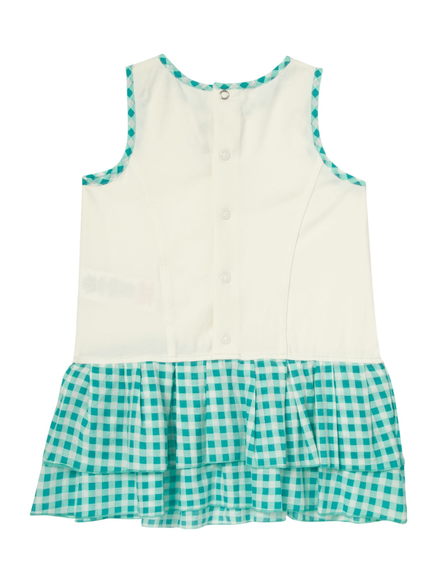 Girl`s penguin island dress