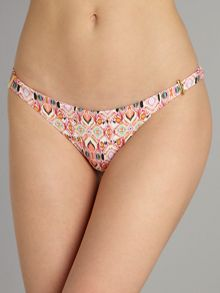Melissa Odabash Martinique ikat print hipster brief