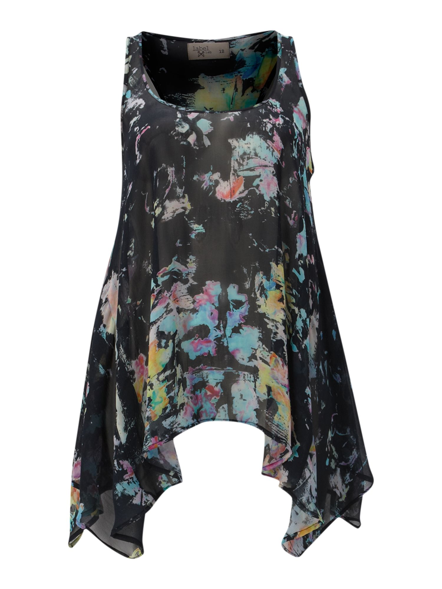Smudge print swing top