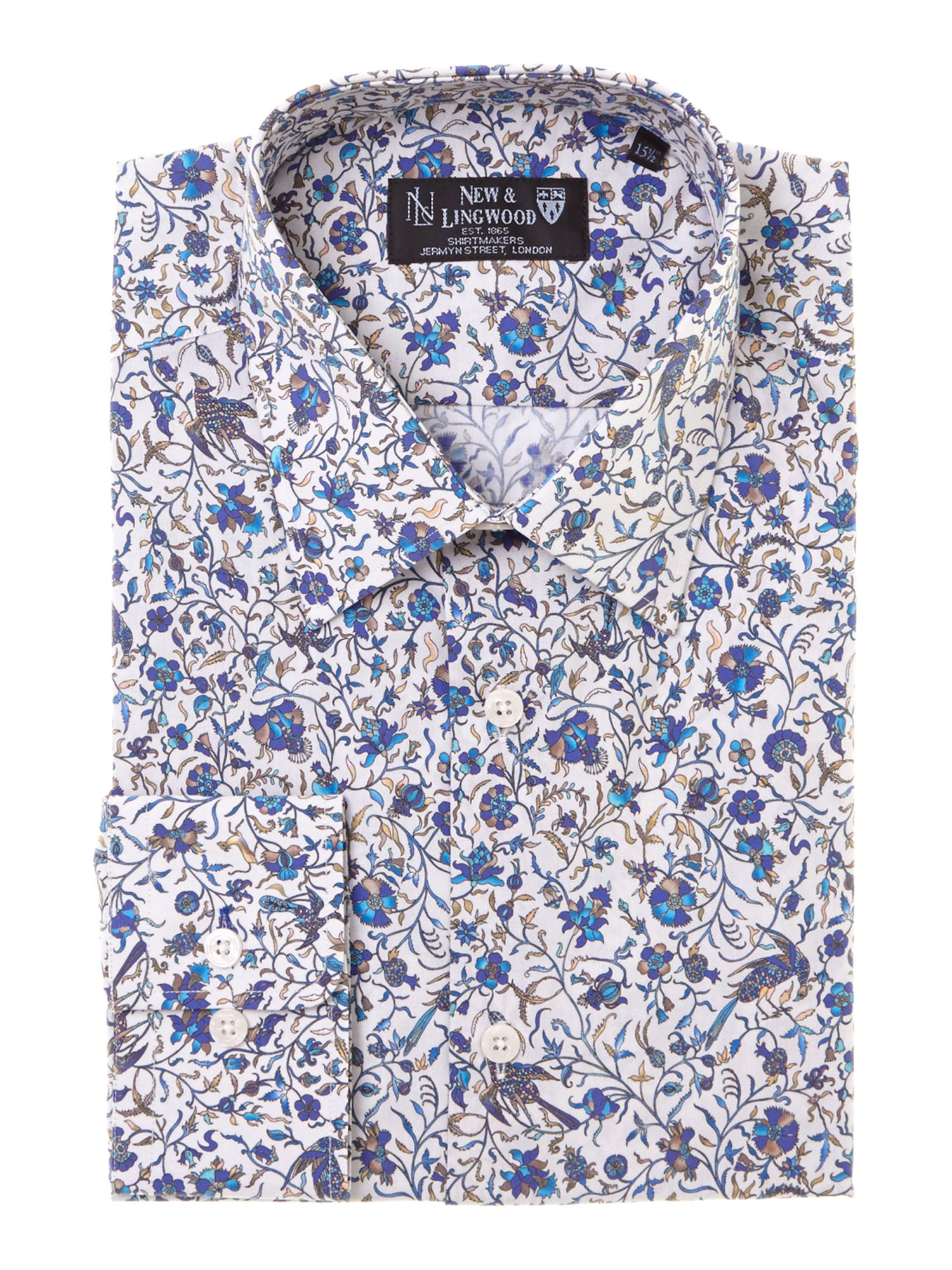 Margan Poplin Single Cuff Shirt