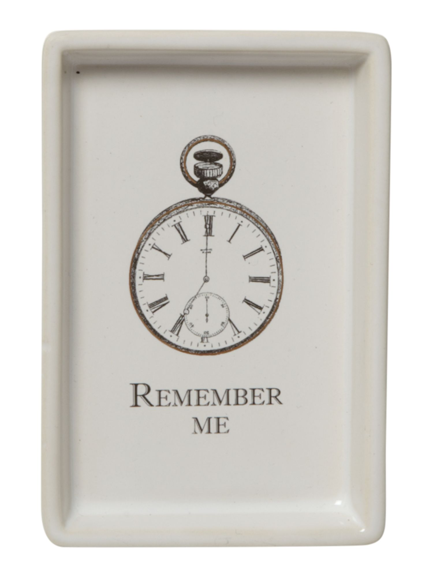 Remember me ceramic tray