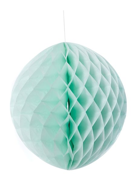 Miss Etoile Honey comb paper ball 2 assorted rose and green