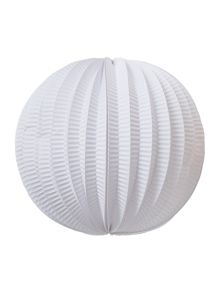 Round paper lantern 3 assorted rose, green, white