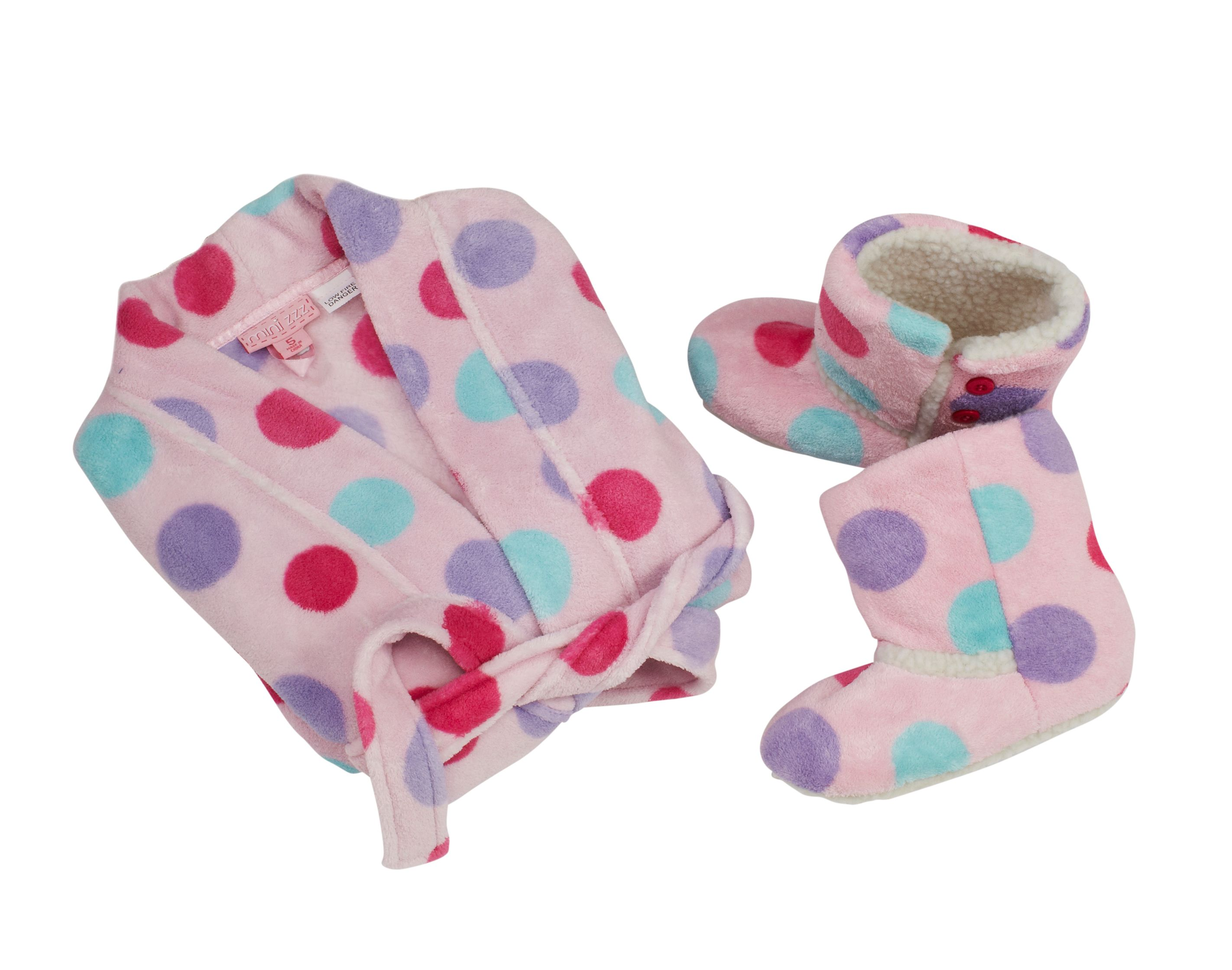 Boy`s star gown and slipper gift pack