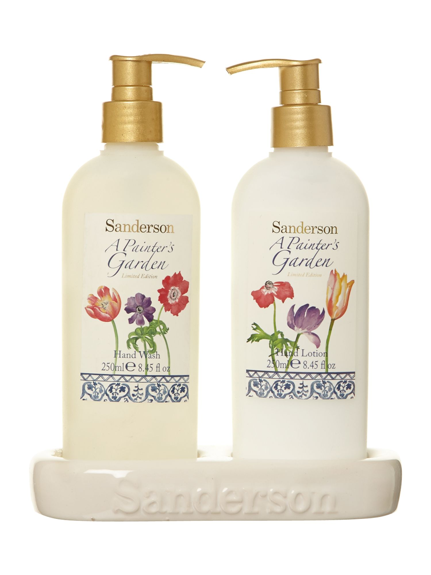 Hand wash and hand lotion set