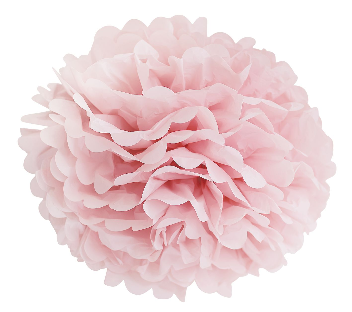 Rose paper flower hanging decoration