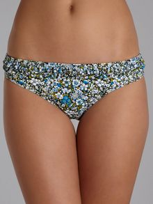 Heather frill hipster brief