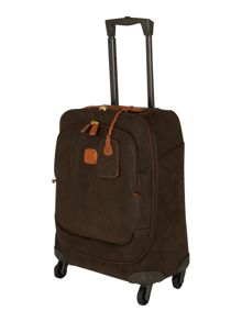 Life olive 4 wheel 54cm suitcase