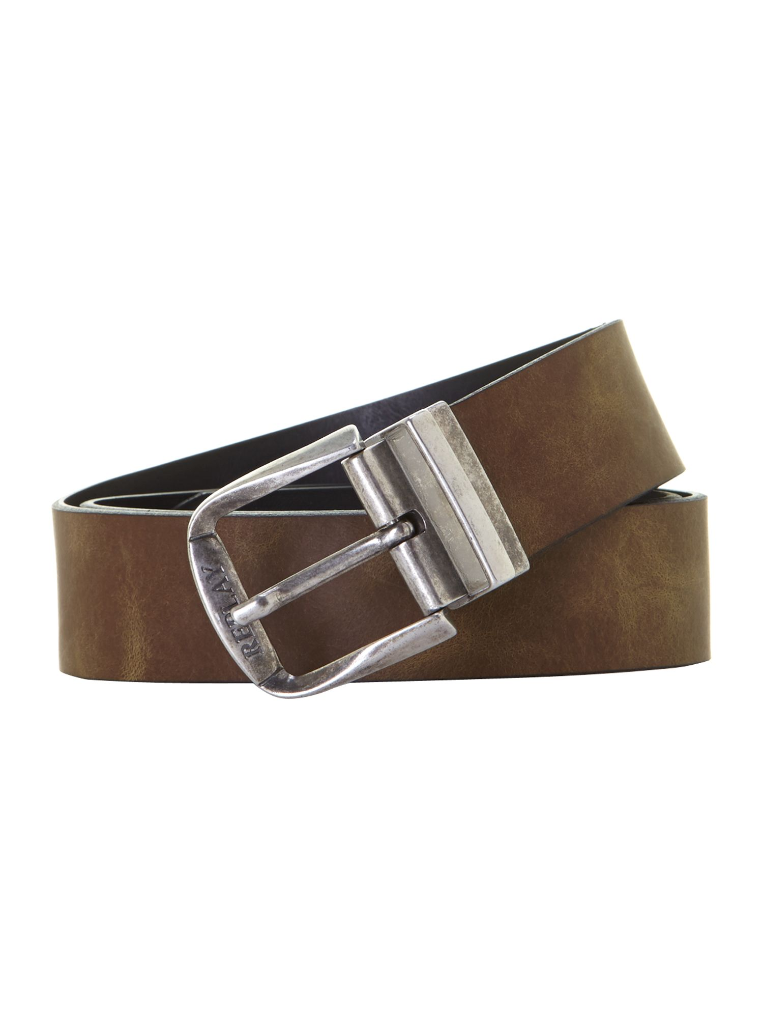 Crust leather belt