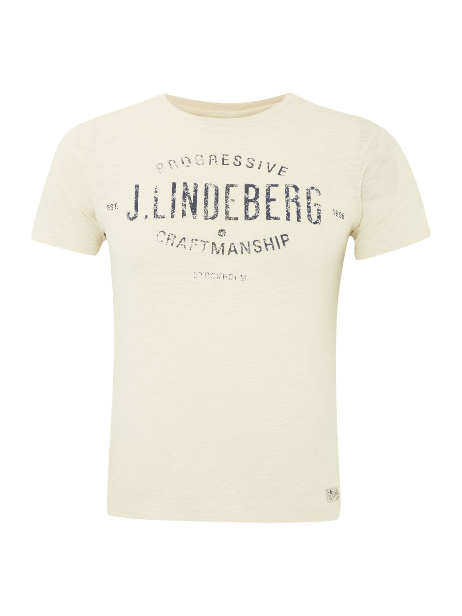 Alec slub t-shirt with progressive logo