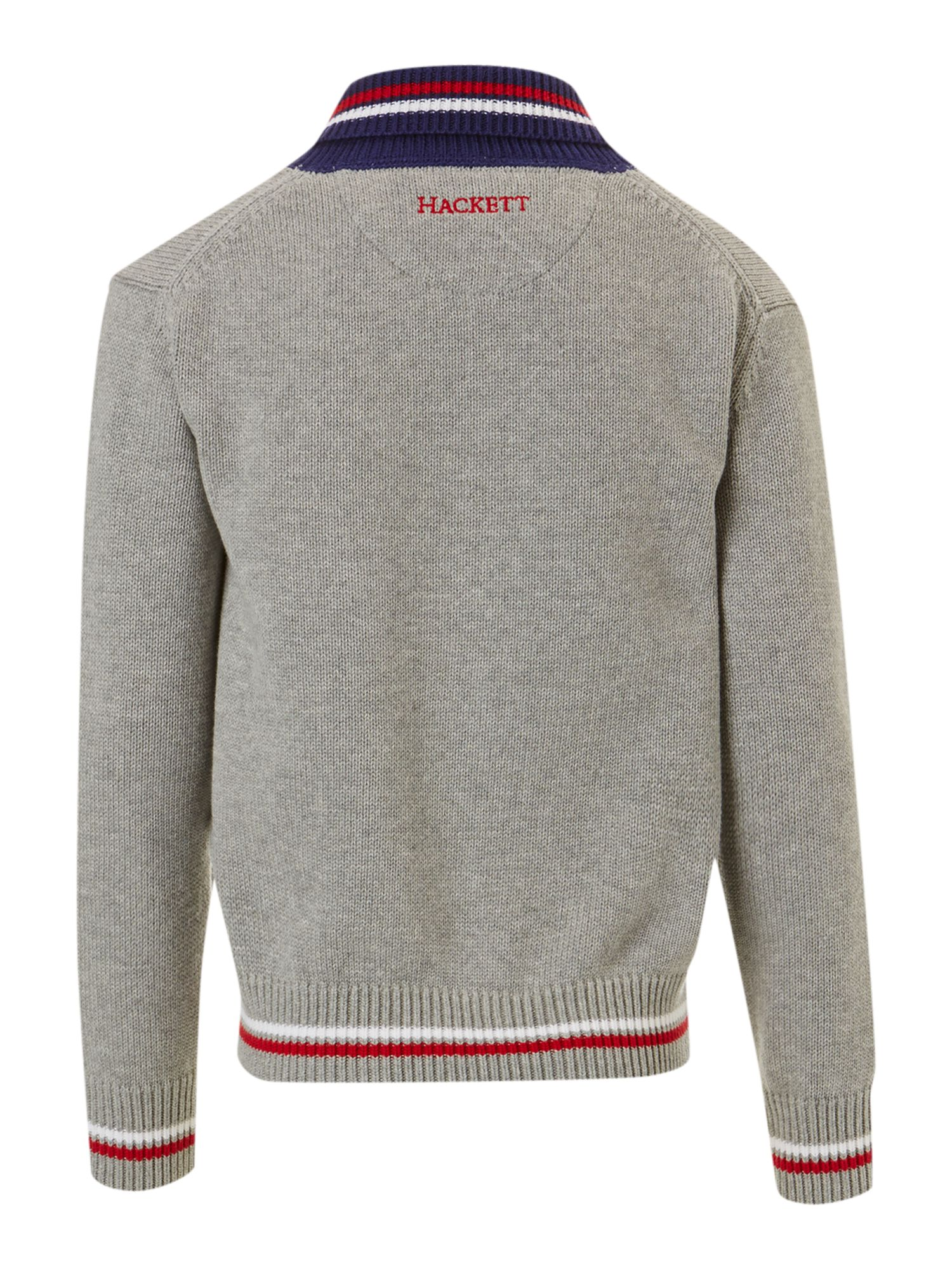 Boy`s shawl neck cardigan