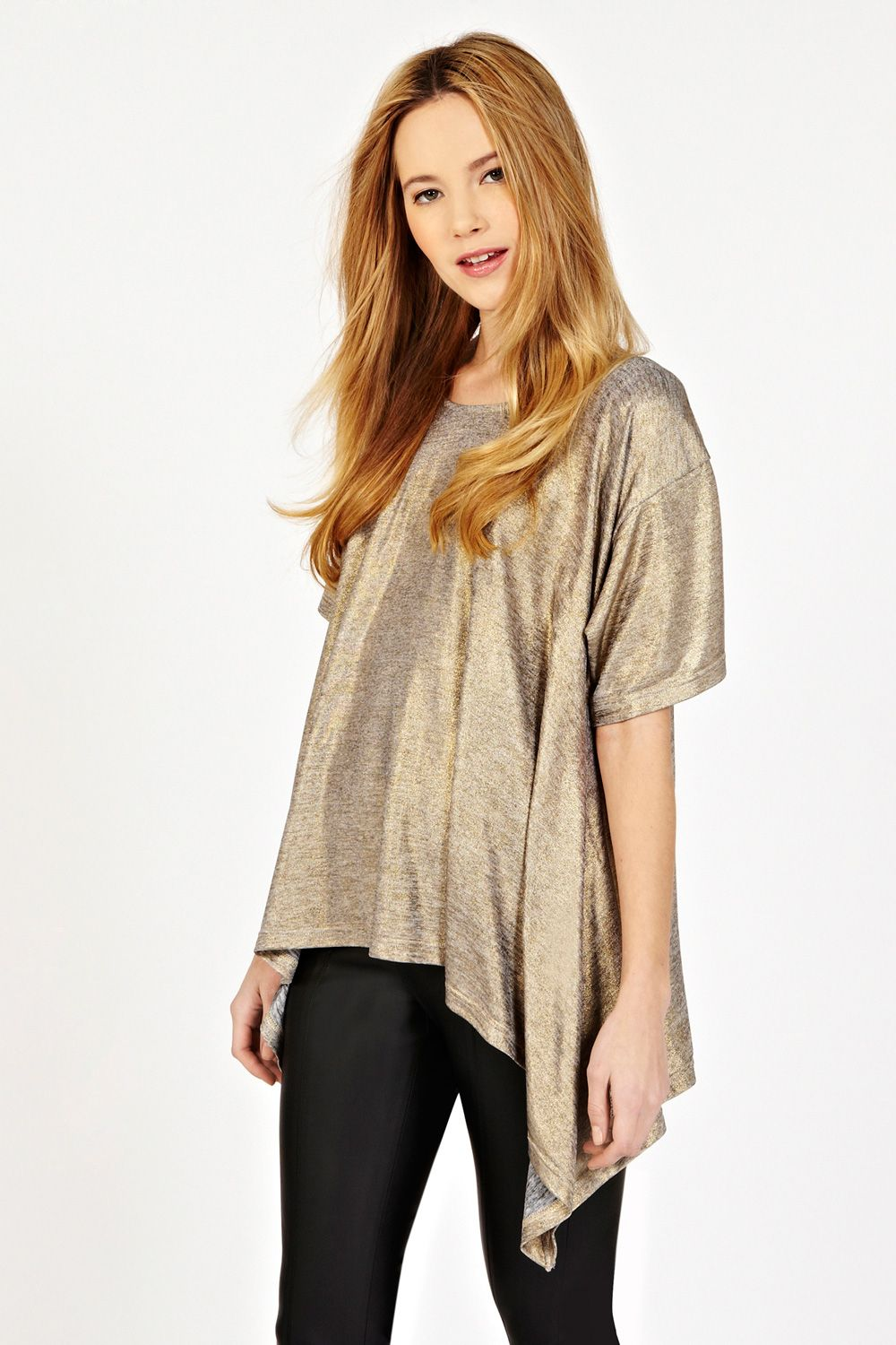 Foil print cut out top