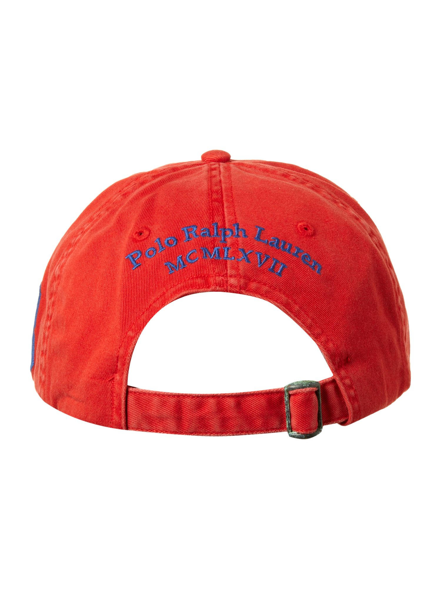Large polo pony cap