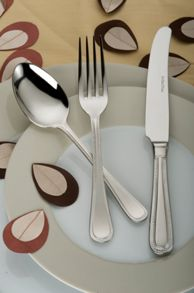 Bead stainless steel 7 piece place setting