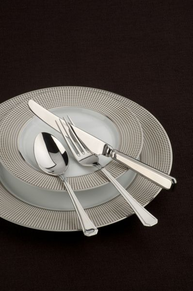 Arthur Price Grecian stainless steel 7 pce place setting