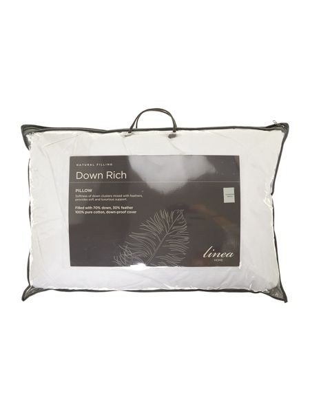 Linea Down rich pillow
