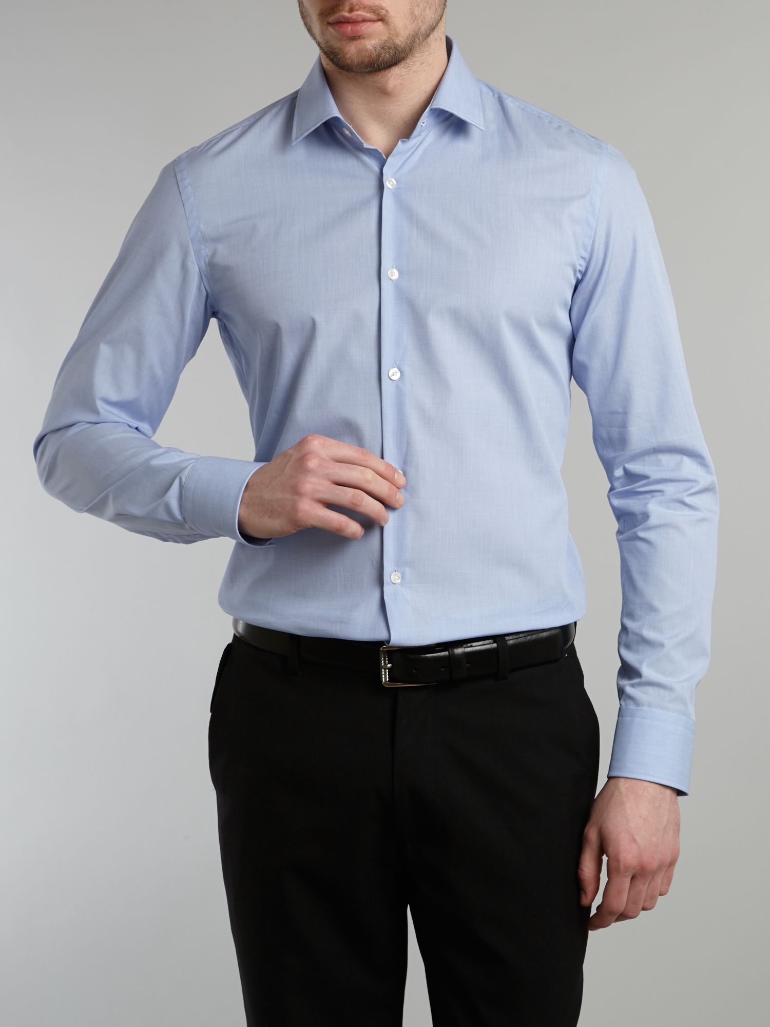 Jenno stretch end on end shirt