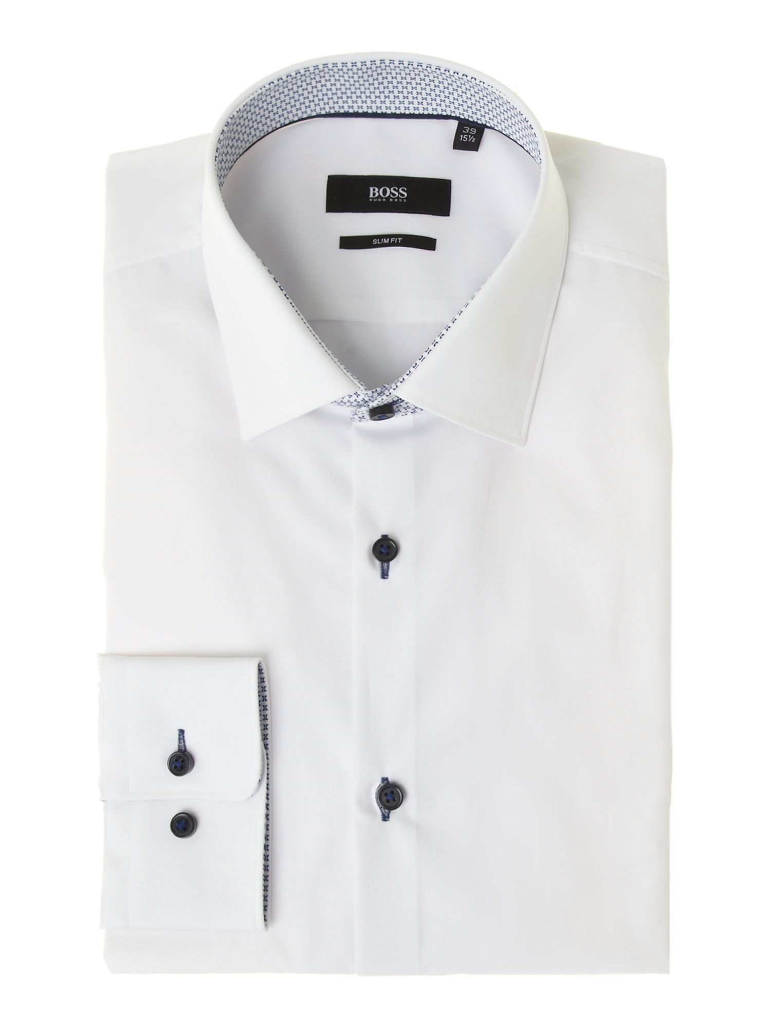 Poplin trim Juri shirt