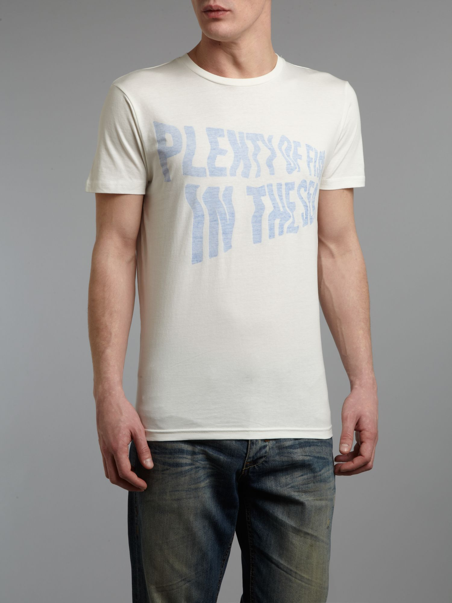 `Plenty of Fish` graphic T-shirt