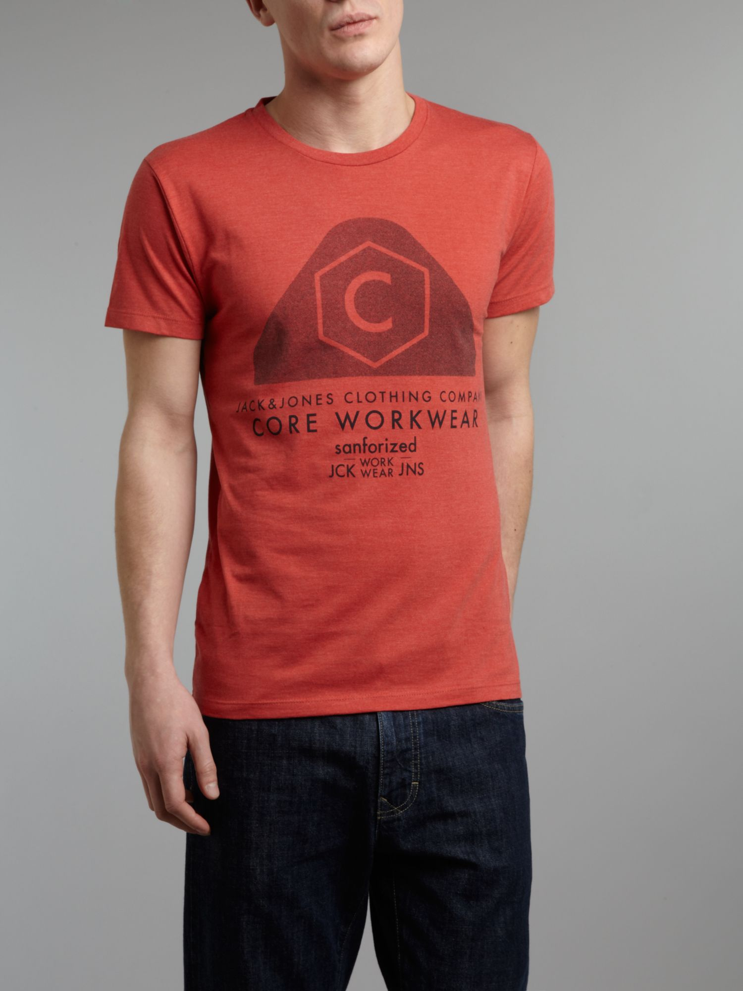 Core workwear graphic T-shirt