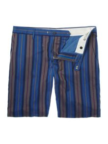 Nester striped chino short