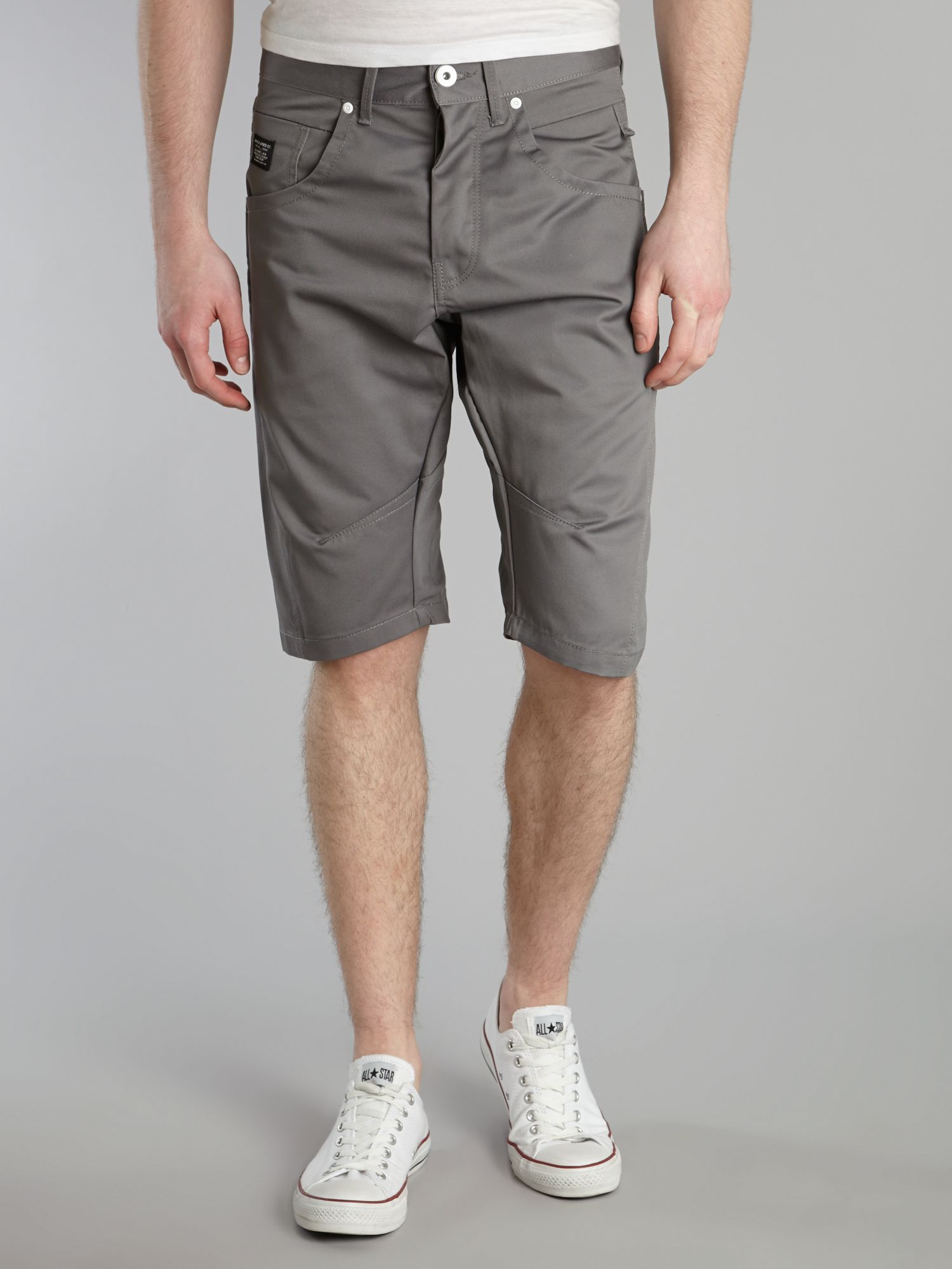 Dale Twisted long chino shorts