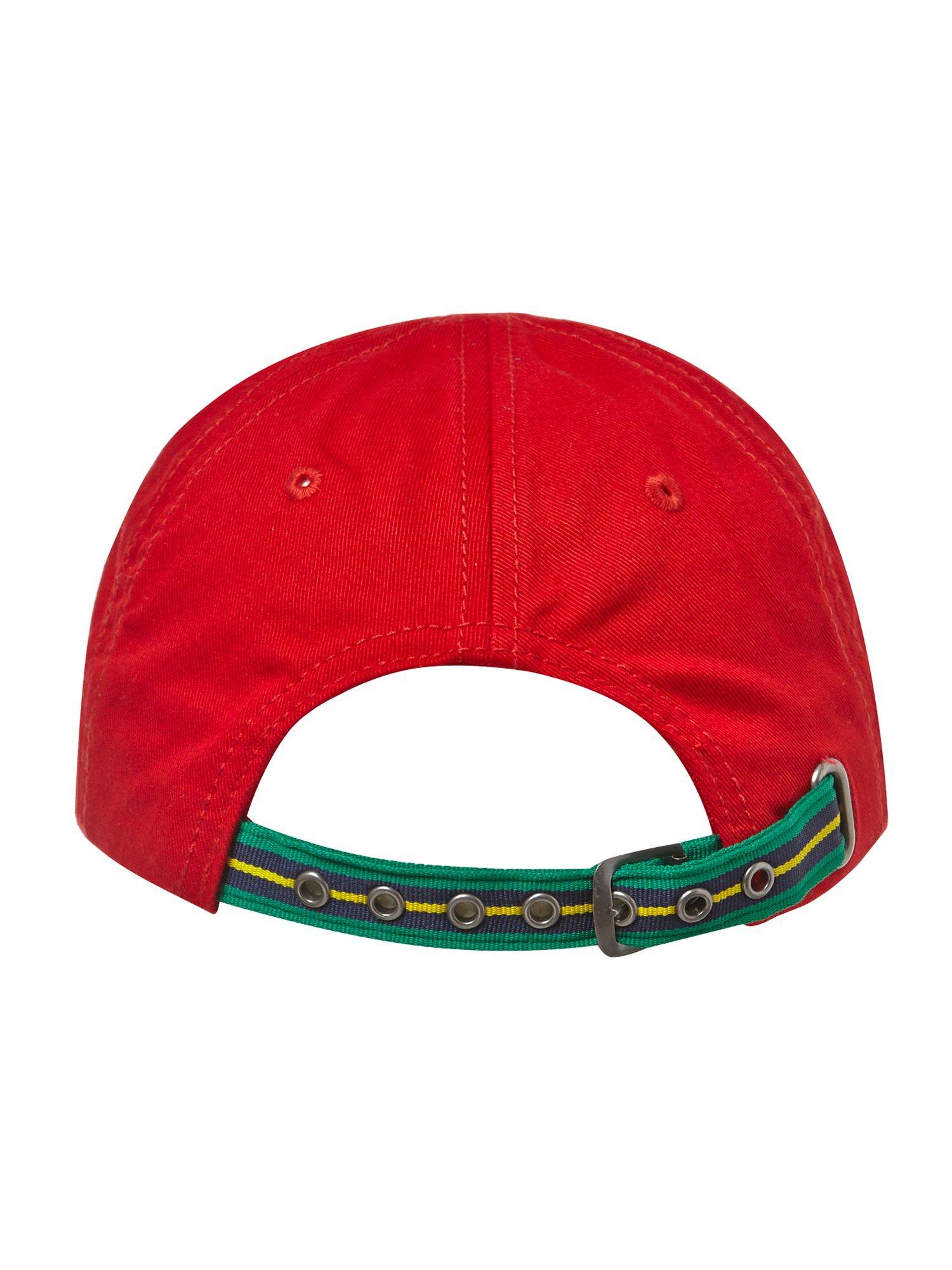 Boy`s crocodile logo baseball cap