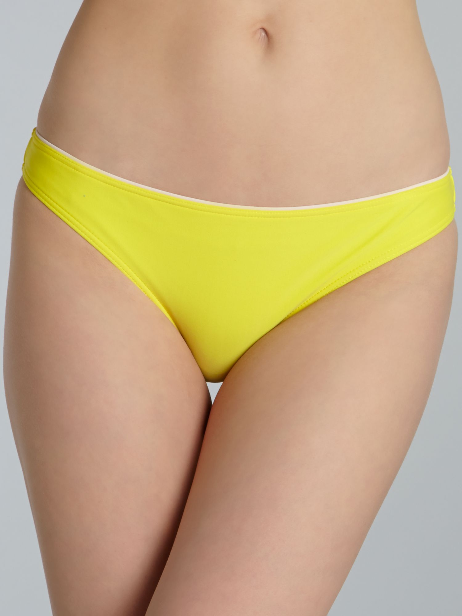 Sunshine yellow tie side brief