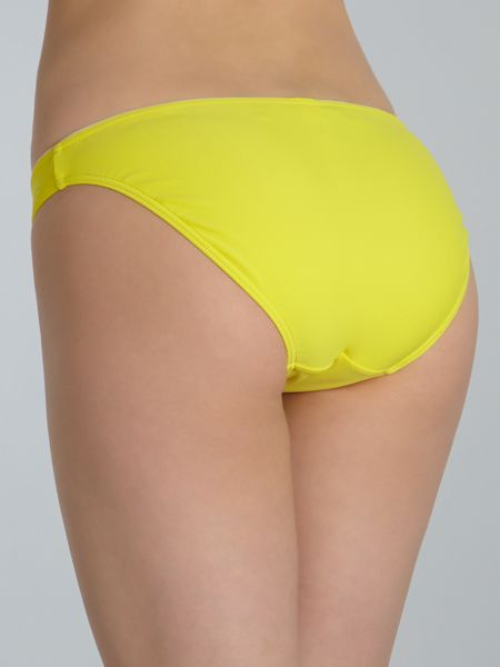 Ted Baker Sunshine yellow tie side brief