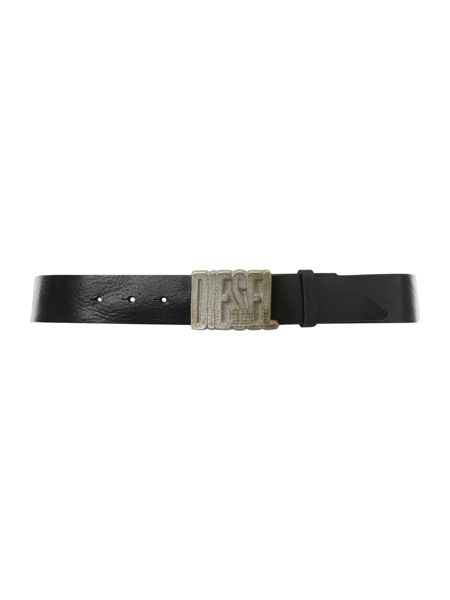 Diesel Logo plaque belt