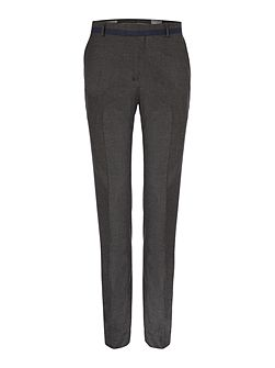 Draper flat-fronted trousers