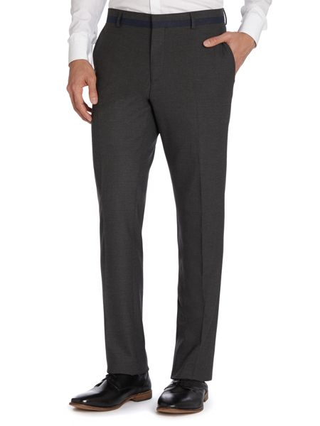 Peter Werth Draper flat-fronted trousers