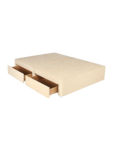 Redirect for Double divan base with drawers