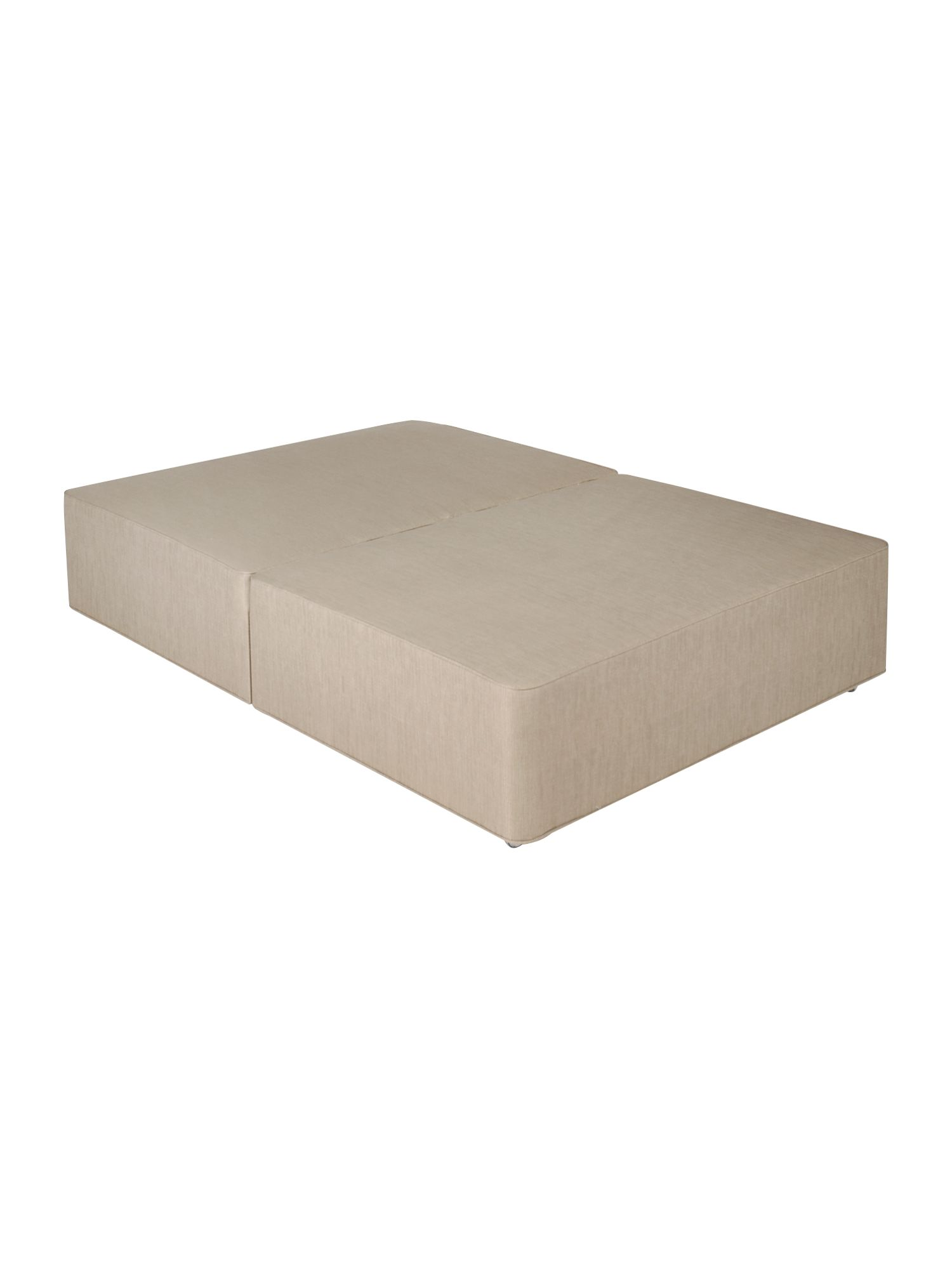 Coffee double platform top divan base