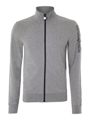 EA7 Zip Through Track Top