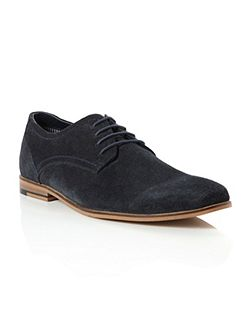 Bromley plain casual lace up shoes