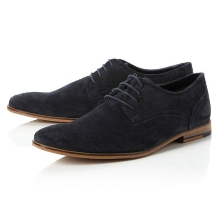 Linea Bromley plain casual lace up shoes
