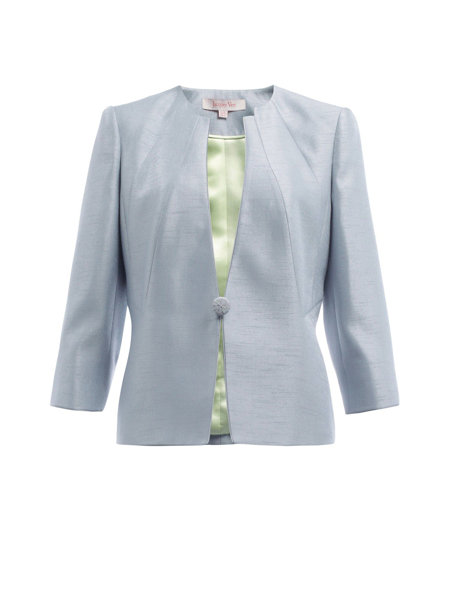 Zinc collarless jacket