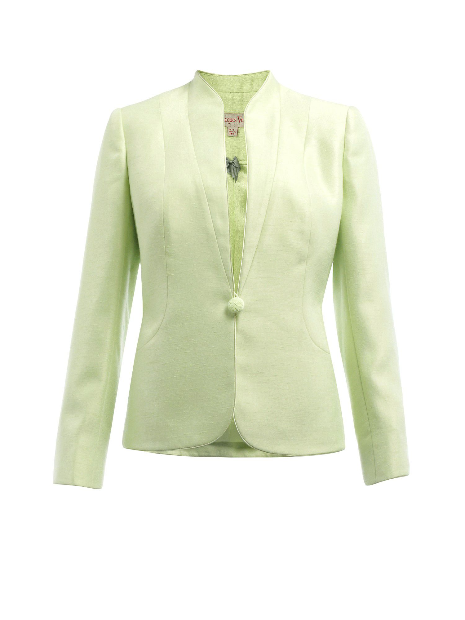 Apple stand collar jacket