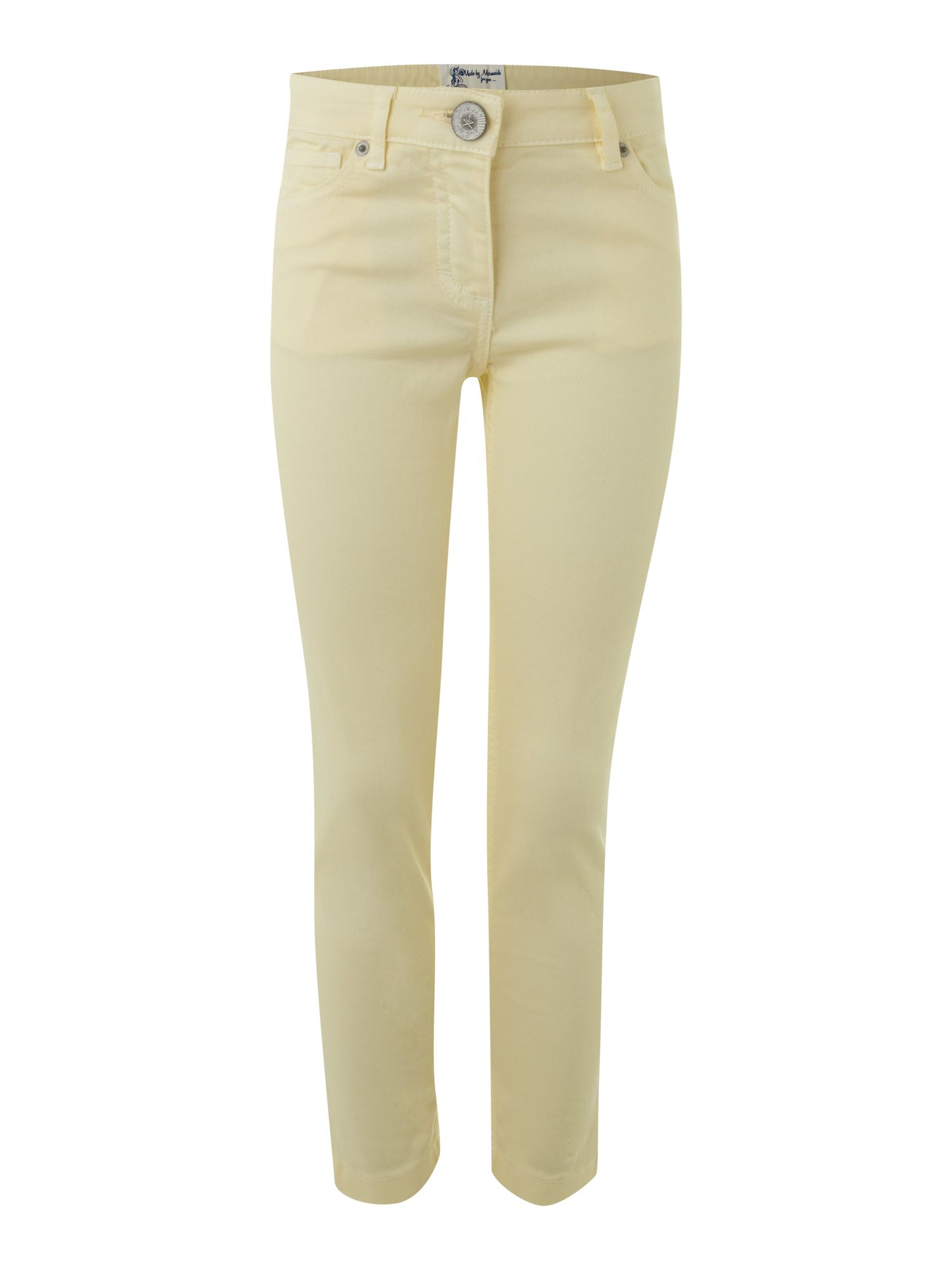Girl`s overdye stretch jeans